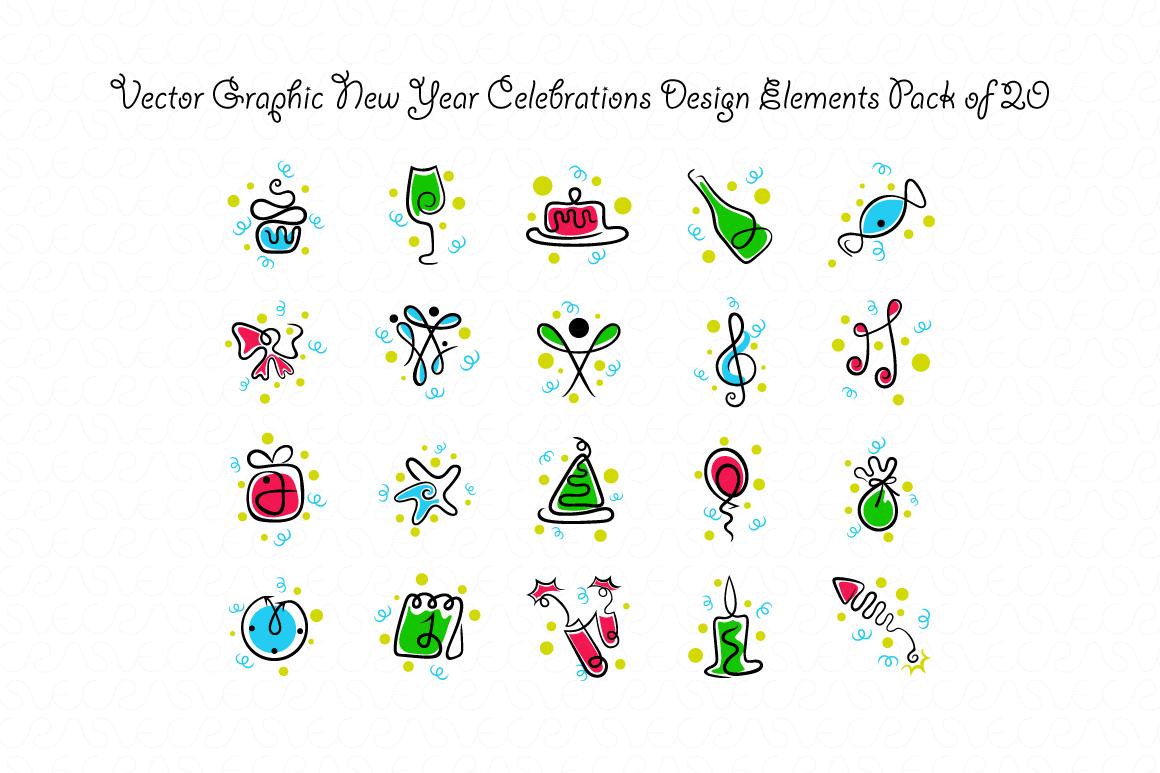 Christmas & New Year Bundle of Ornamental Mockups & Graphics example image 11