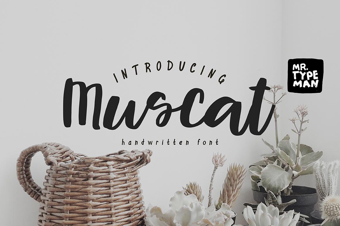 Muscat Handwritten Script example image 1