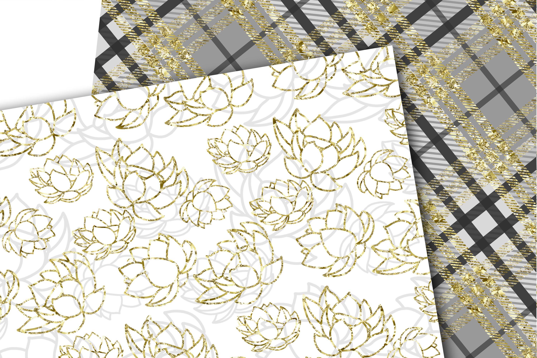Swans digital paper example image 6