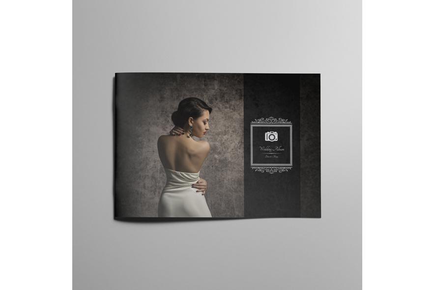 Wedding album Template A4 Landscape example image 4