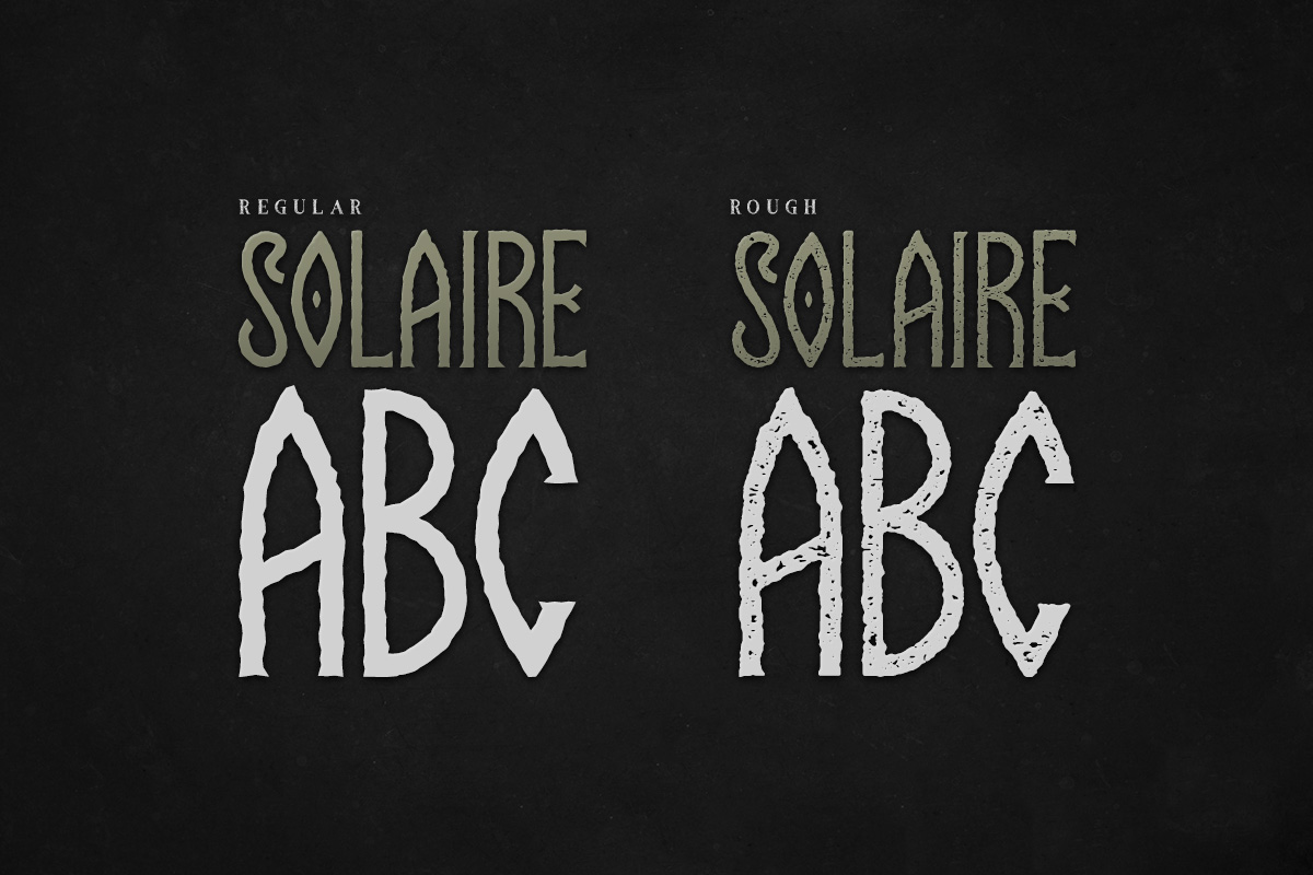 Solaire Typeface example image 4