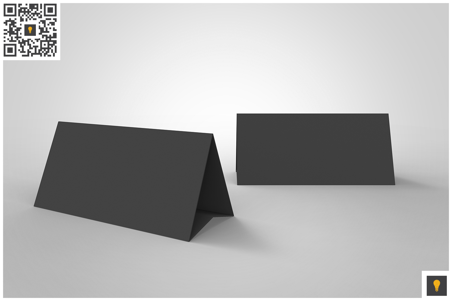 Table Tent 3D Render example image 8