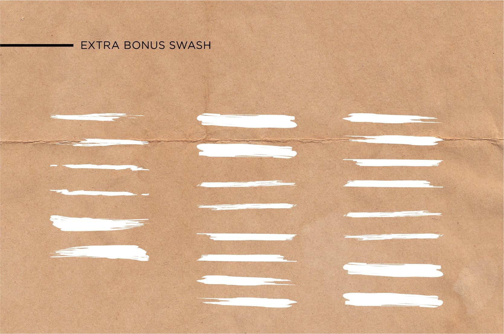 Brushot 4 Font Plus Swash example image 3