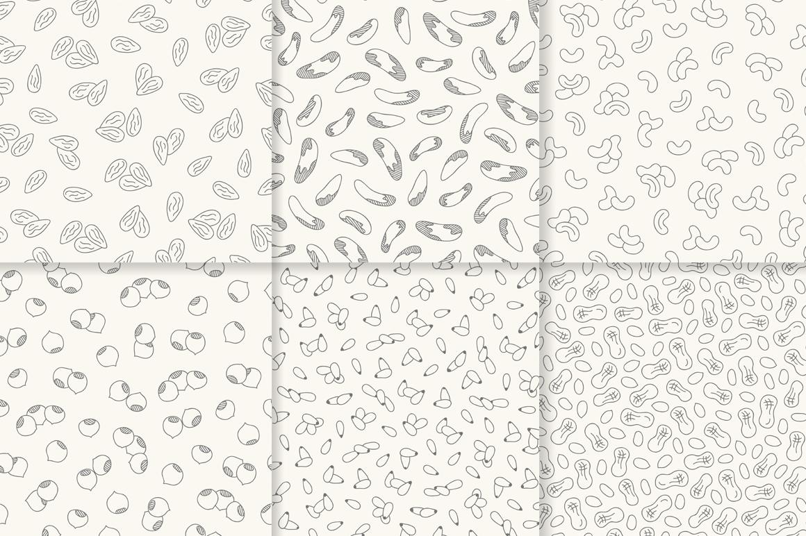 12 Nuts - Illustration & Patterns example image 3