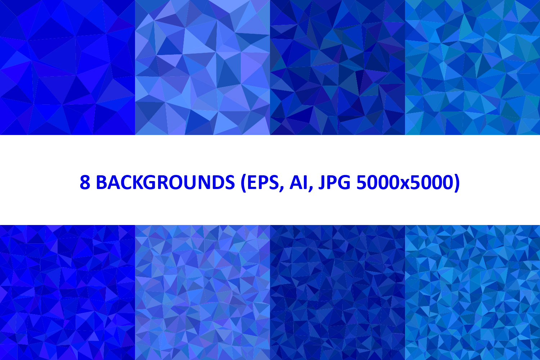 48 Triangle Backgrounds AI, EPS, JPG 5000x5000 example image 4