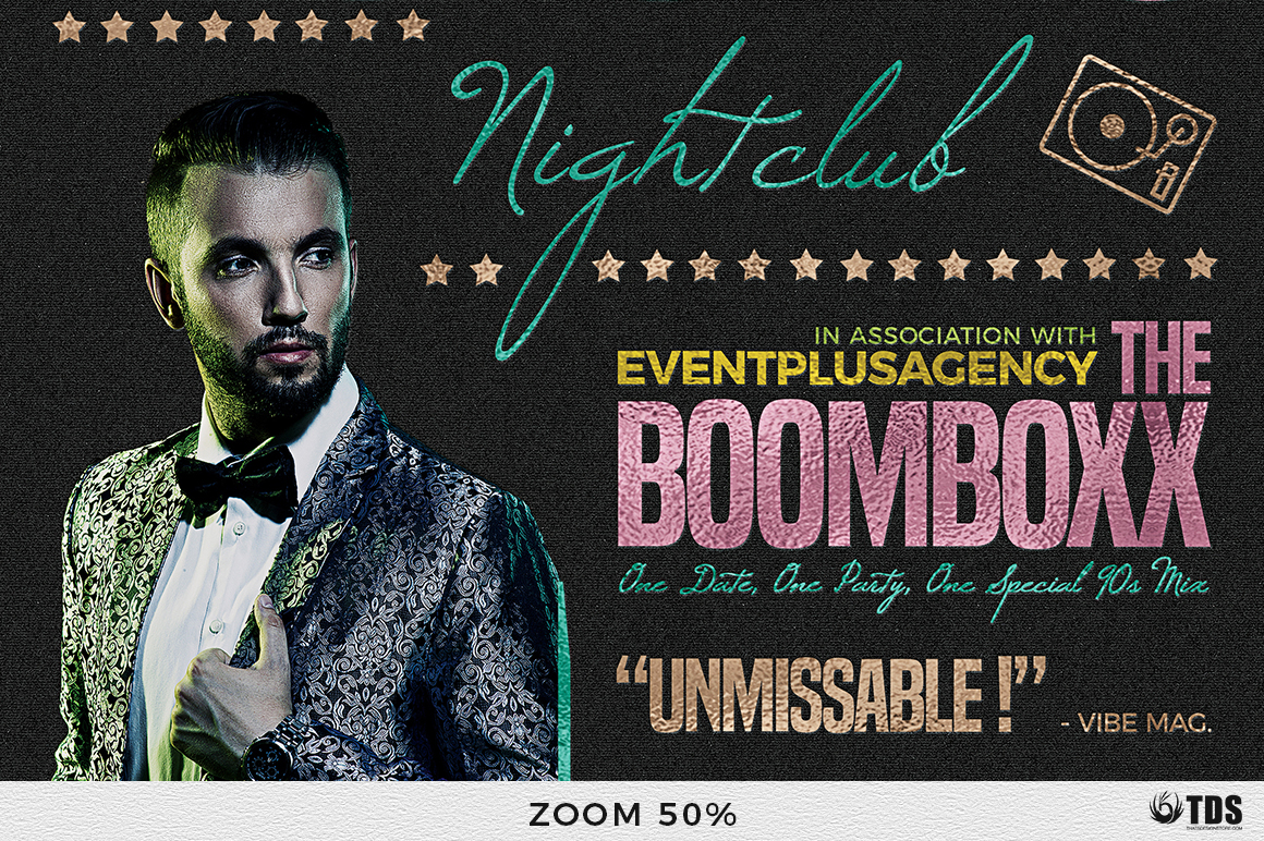 Nightclub Promotion Flyer Template example image 7