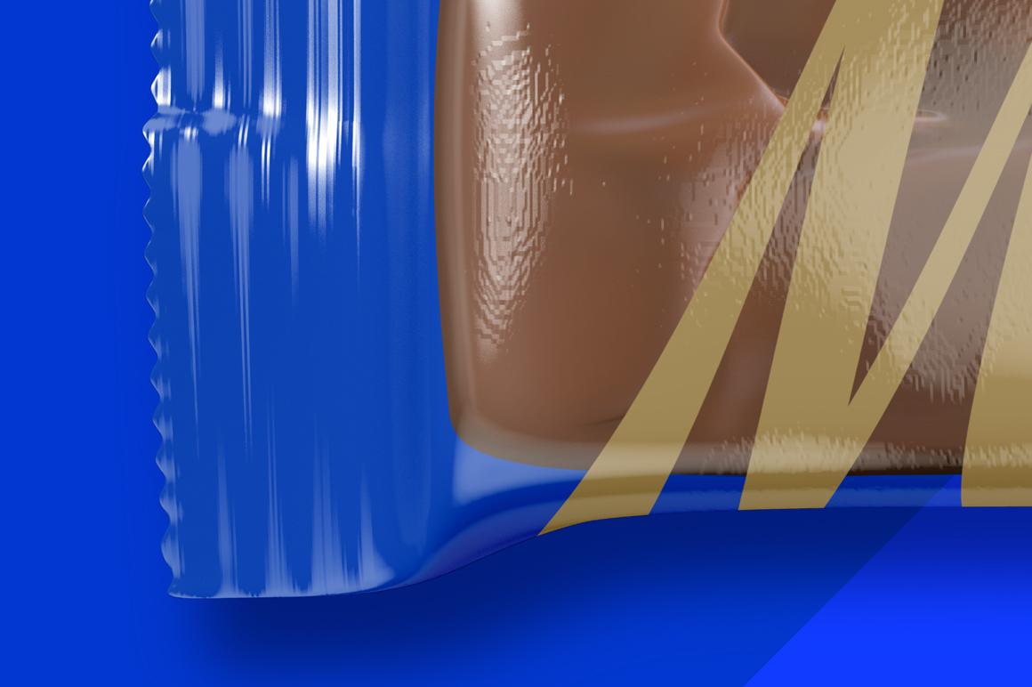 Transparent Glossy Snack Bar Mockup example image 6