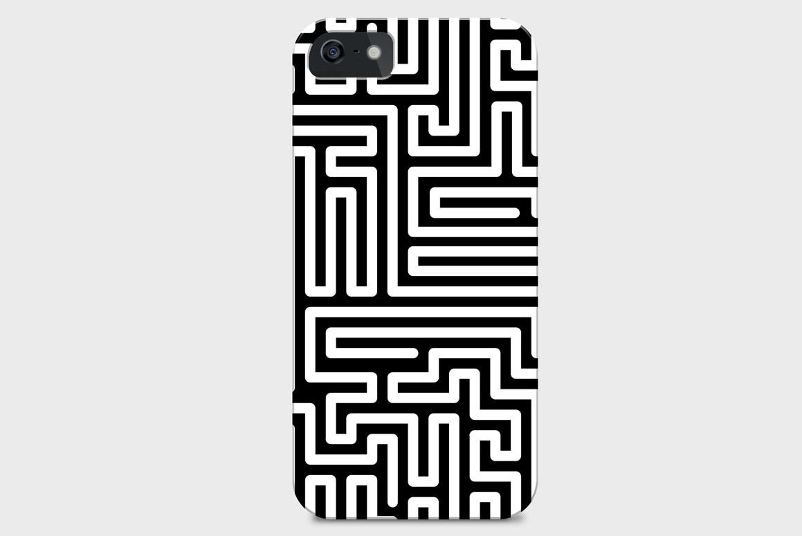 Seamless striped geometric patterns example image 2