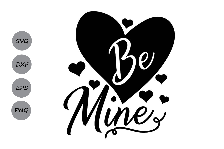 be mine svg, valentine's day svg, valentine svg, love svg. example image 2