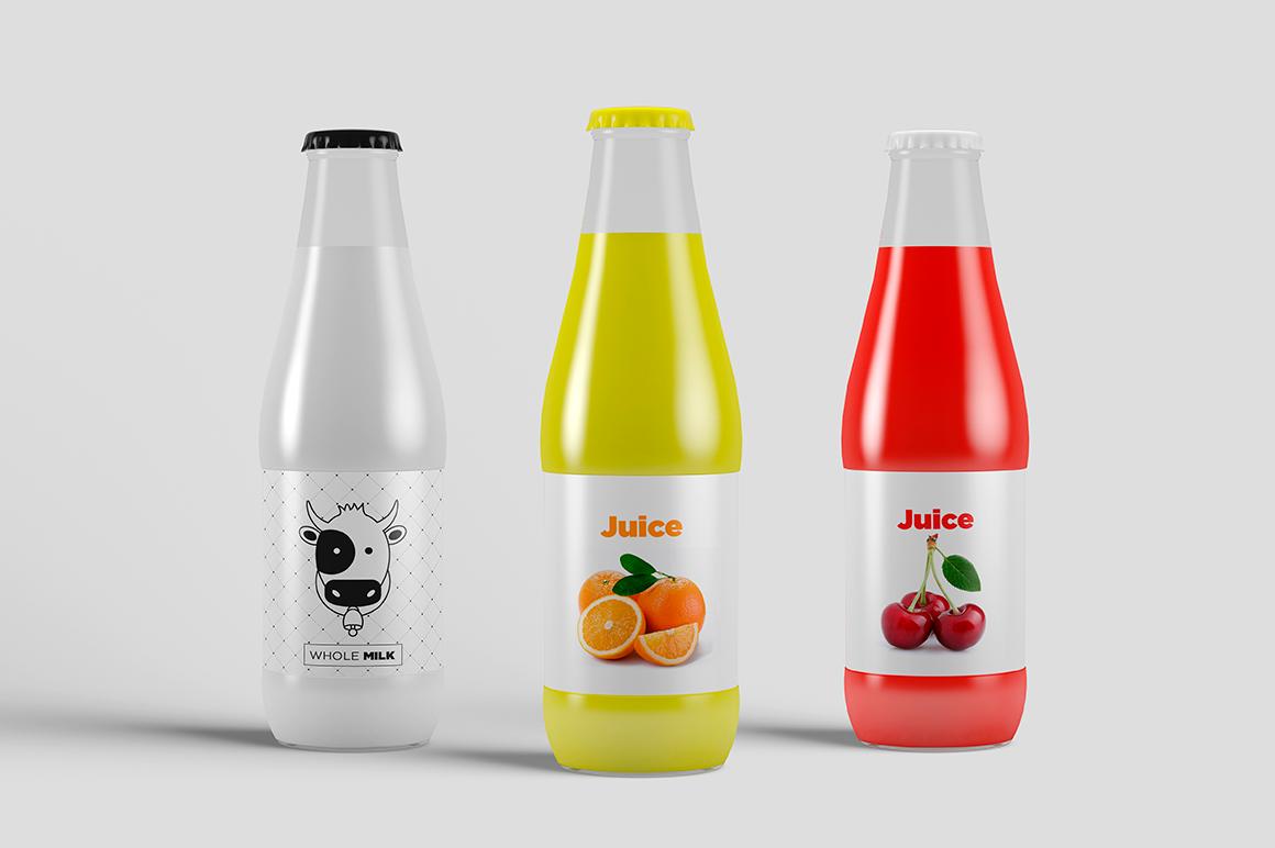 Juice Bottle Mock-Up example image 5