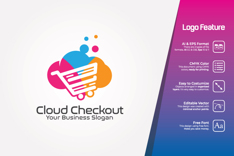 Cloud Computing Logo Template example image 1