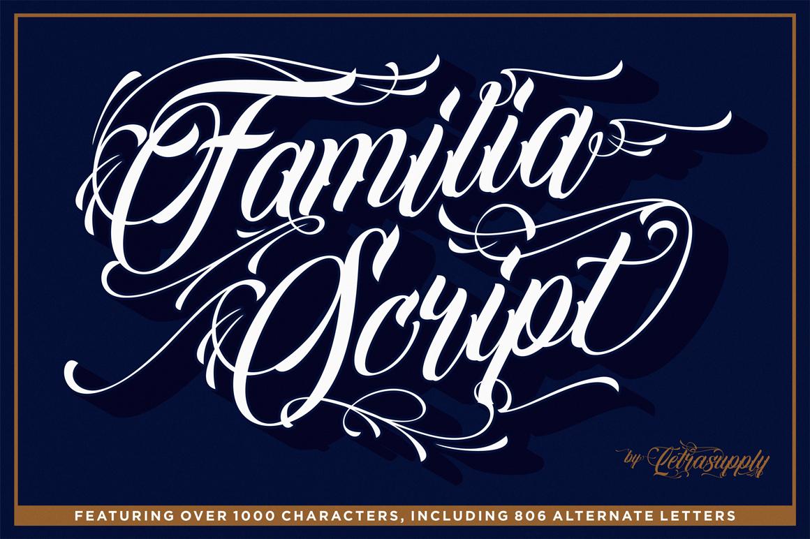 Familia Script example image 1
