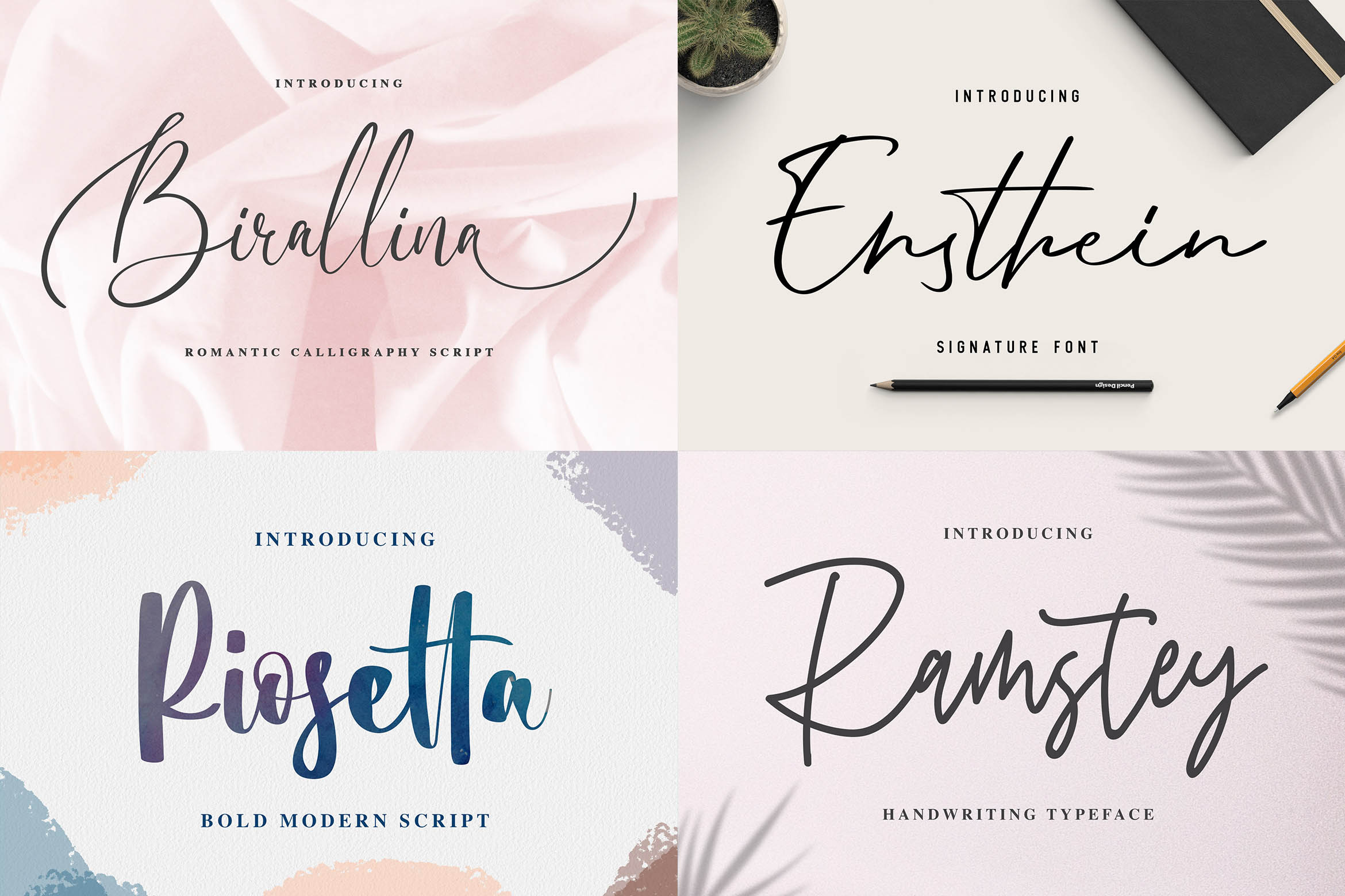 New Year Big Bundle - Crafting Fonts Collection example image 3