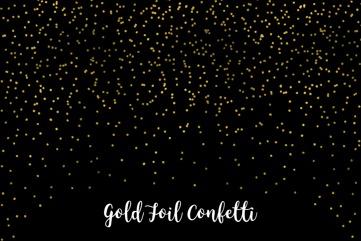 Gold Foil Confetti, Transparent PNG example image 6