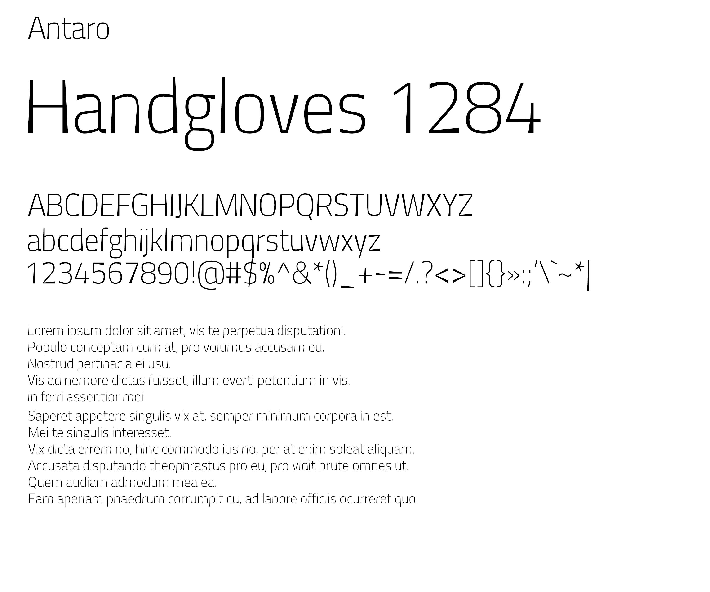 Antaro Font example image 2
