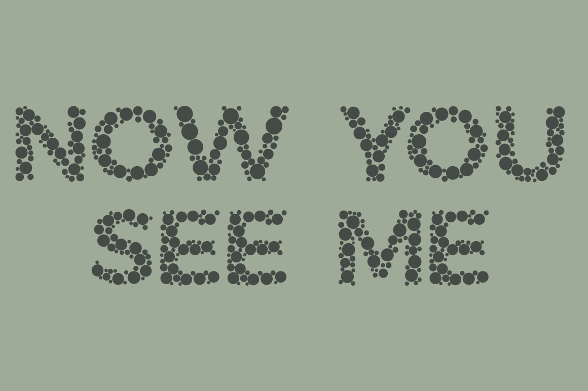 Color Blindness Test Typeface example image 4
