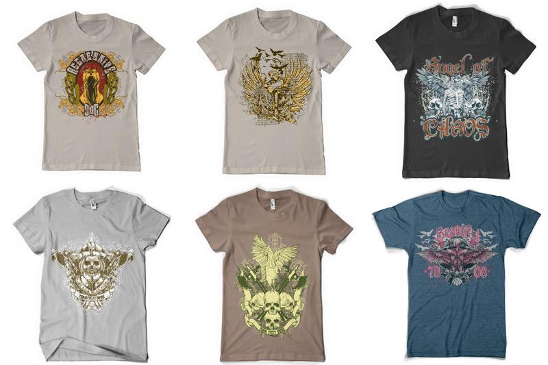 100 T-shirt Designs Vol 2 example image 2