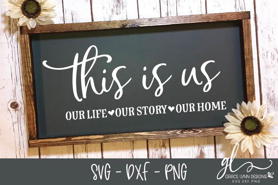 Farmhouse Sign SVG Bundle - SVG, DXF & PNG - 8 Designs example image 3
