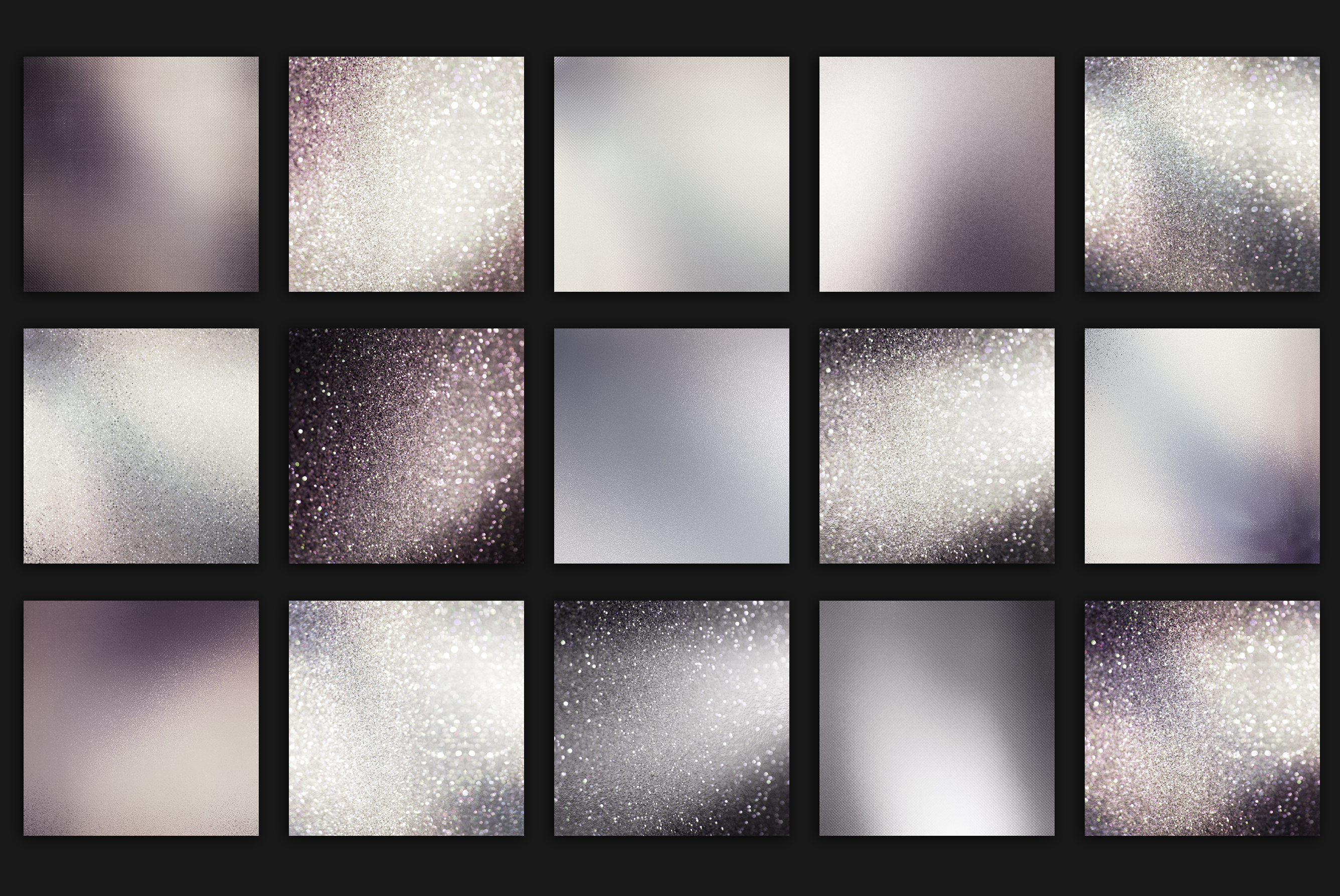 Iridescent and Glitter Textures example image 4