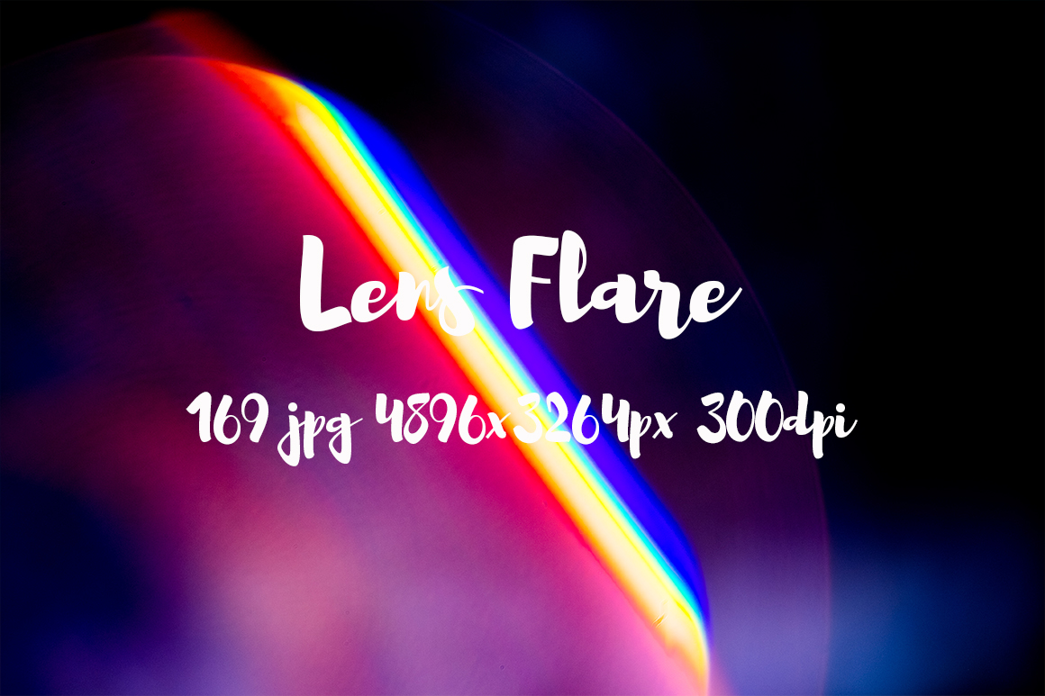 Lens Flare Pack example image 15