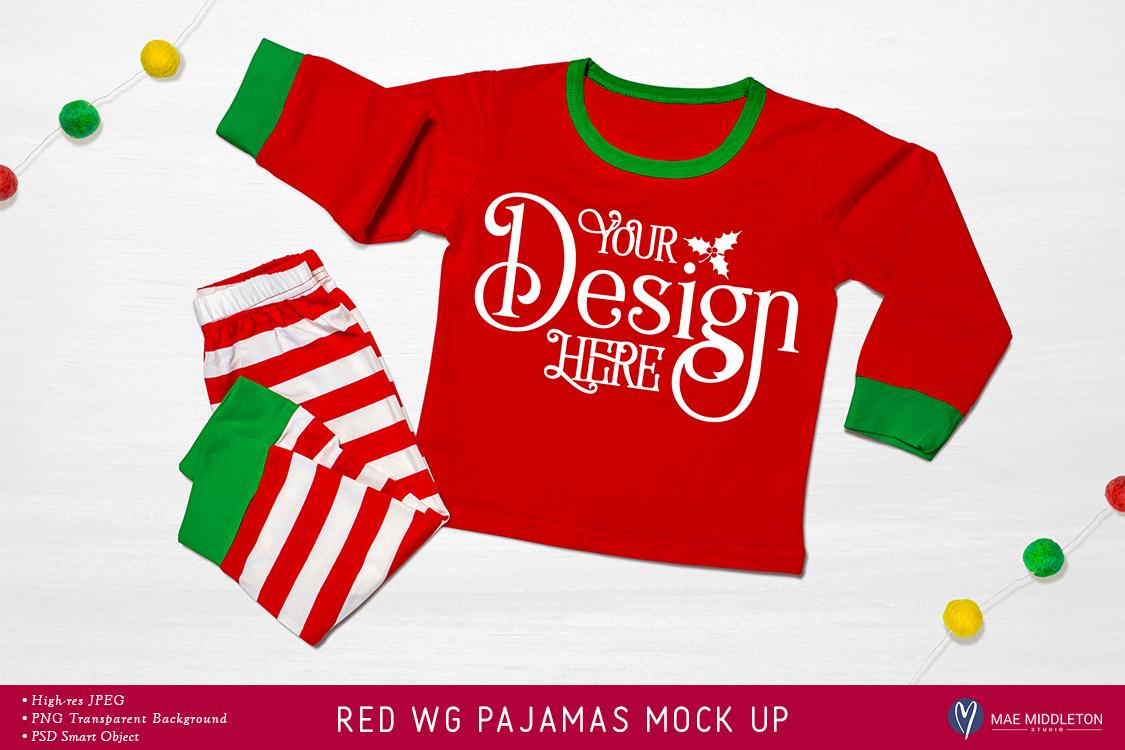 Christmas mock up - Holiday Pajamas example image 1
