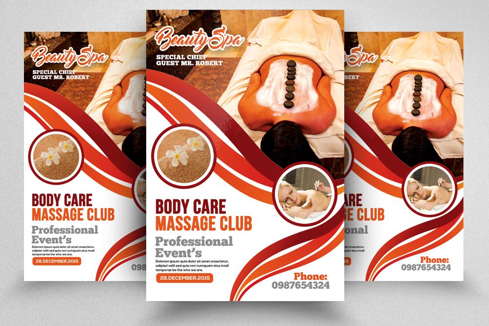 10 Spa & Skin Care Centre Flyer Bundle example image 7