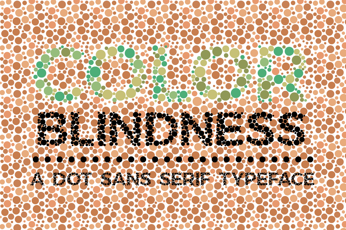Color Blindness Test Typeface example image 1