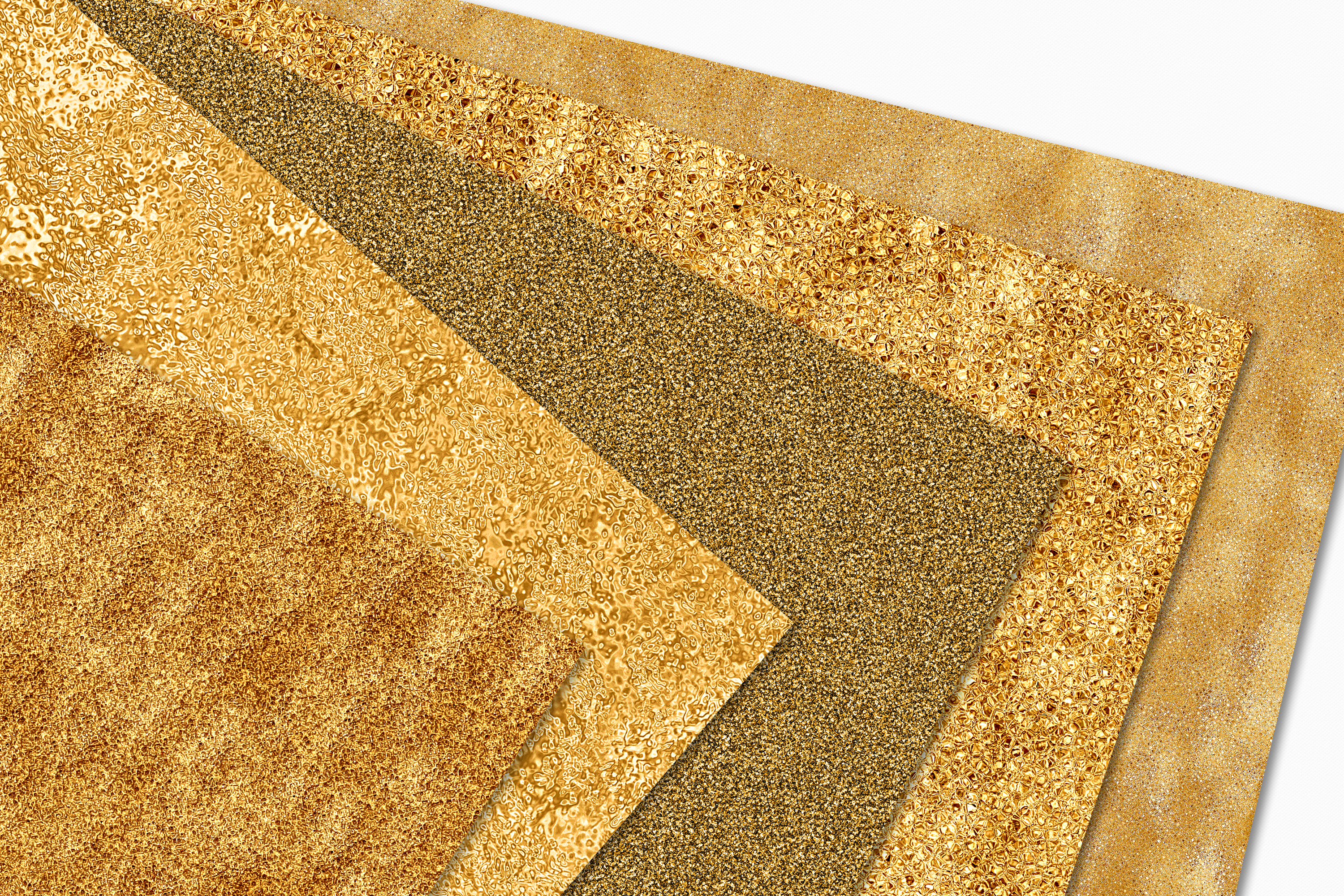 Gold Digital Papers - 10 Seamless Metallic Textures example image 6