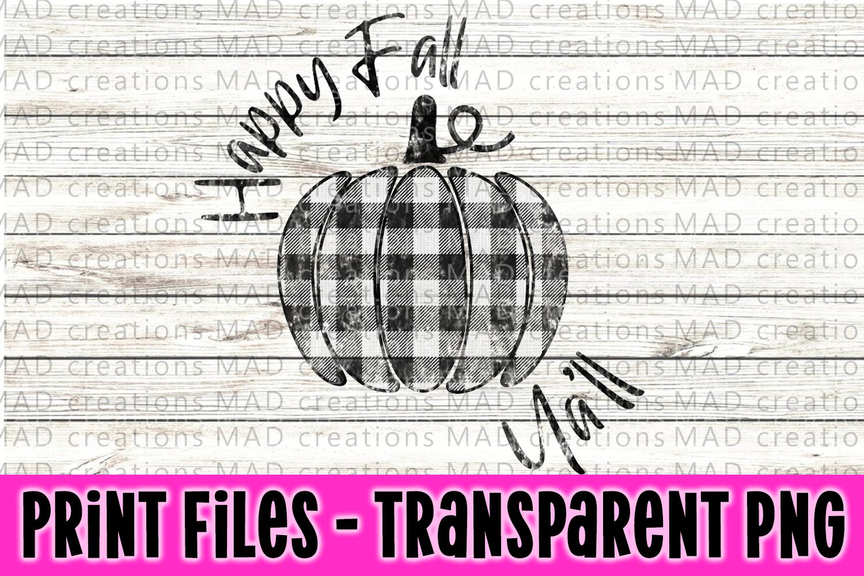 Happy Fall Ya'll Print File example image 1