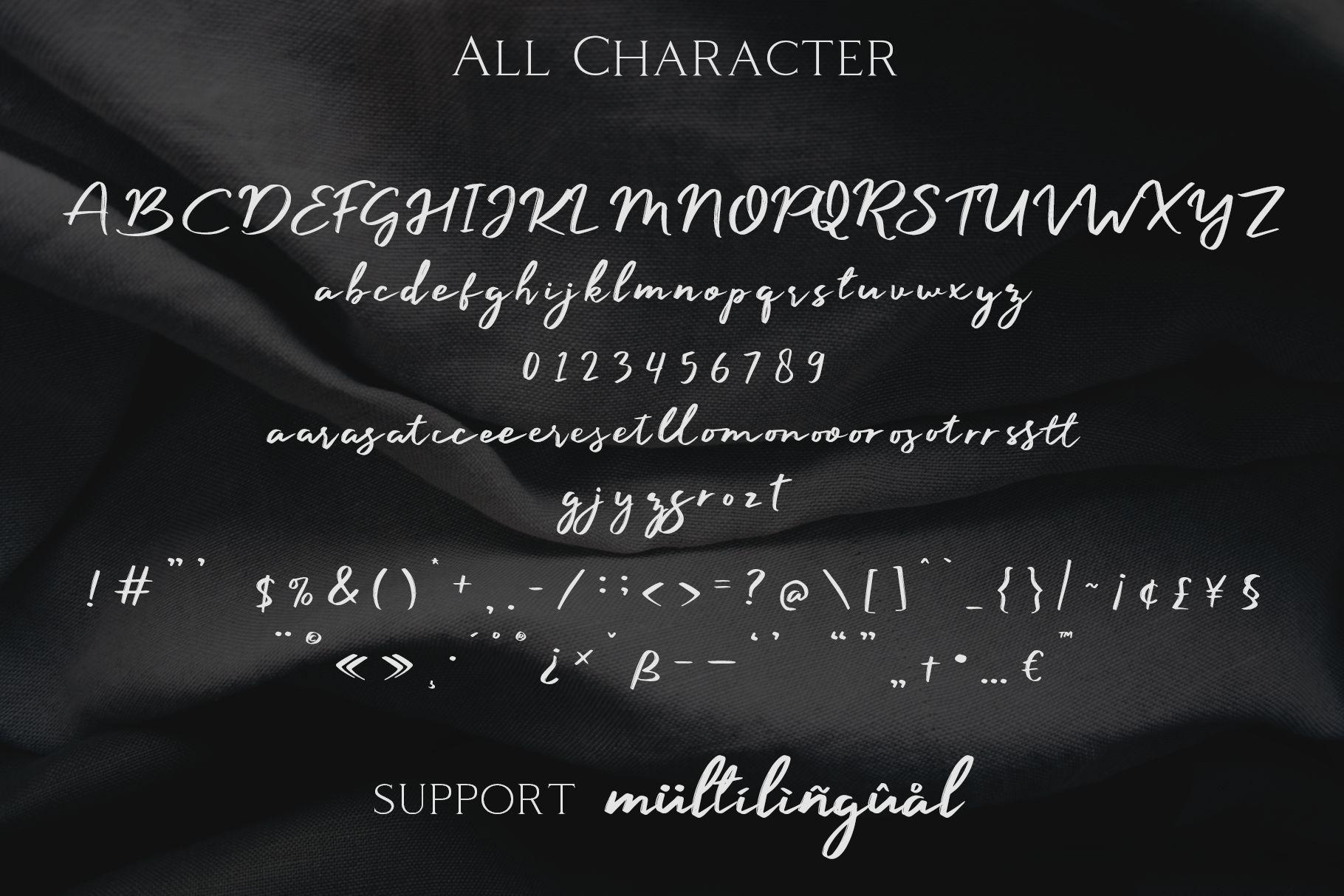Manyland - Handwritten Font example image 6