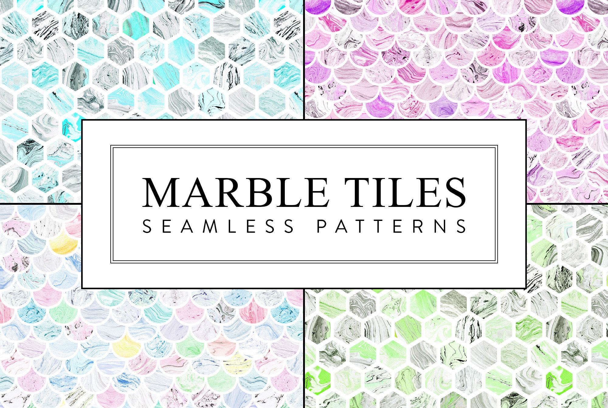 Seamless Patterns Bundle example image 9