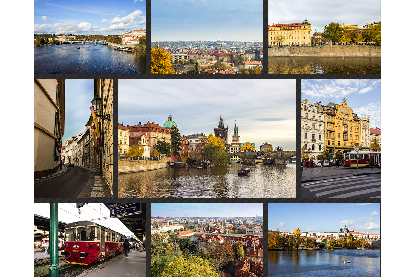 Autumn in Prague | 50 high-quality photos example image 2