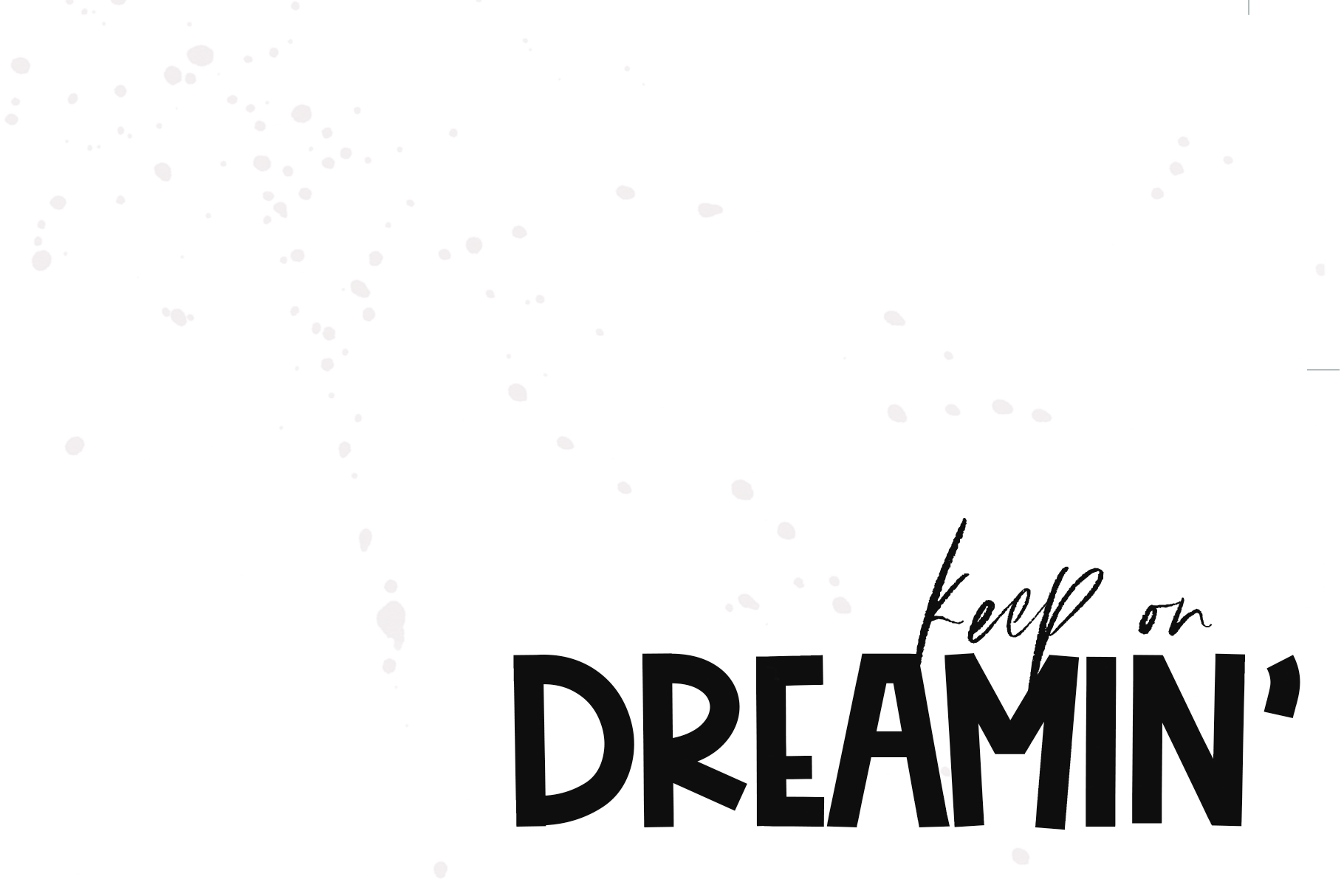 Day Dreamer - A Bold & Cute Handwritten Font example image 2