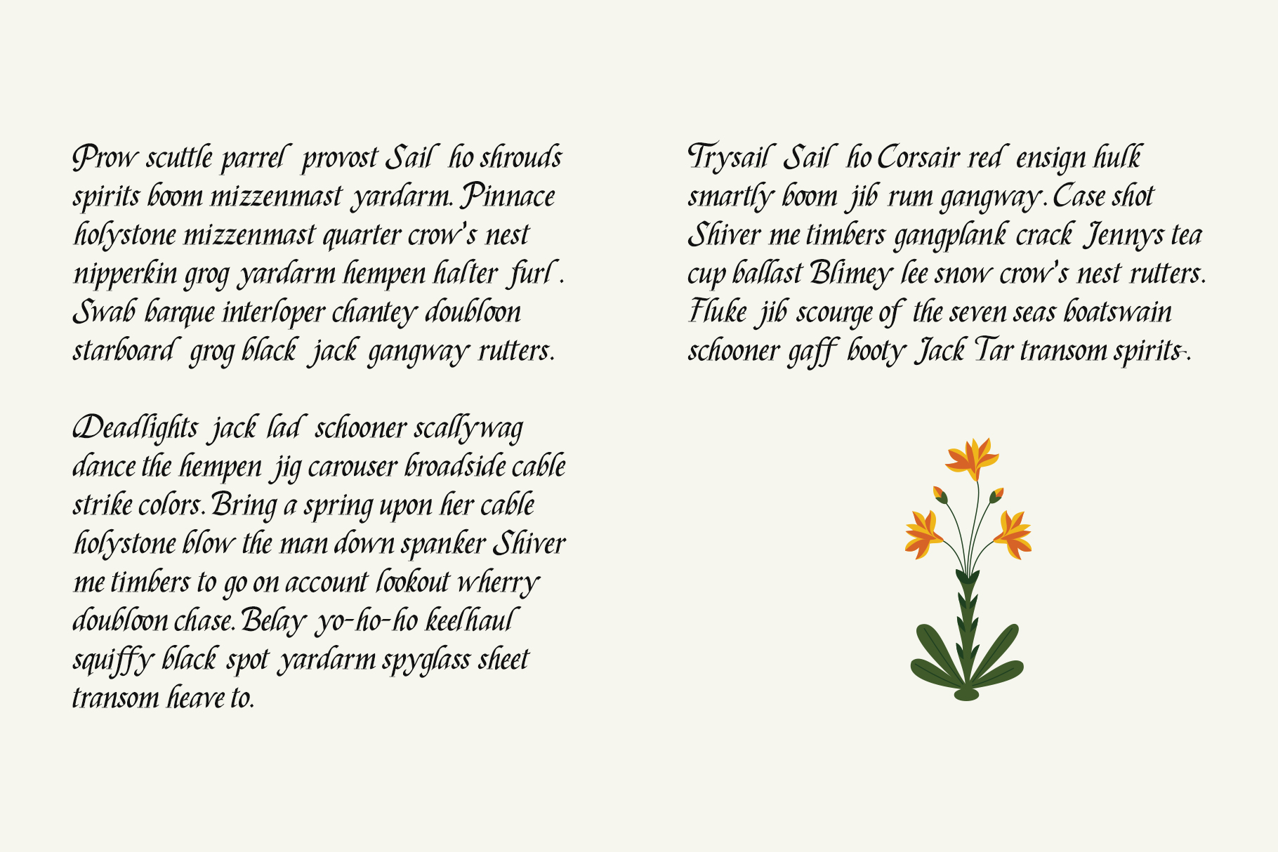 Silverdale Typeface example image 9