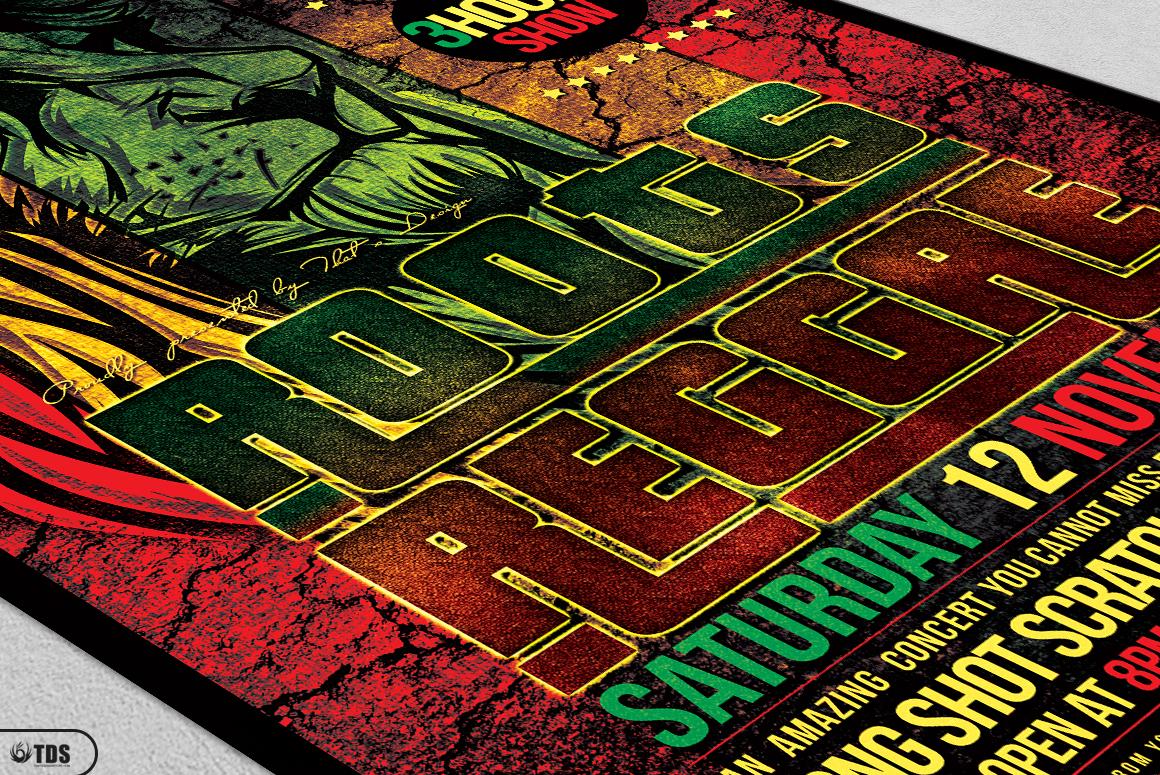 Reggae Flyer Bundle example image 12