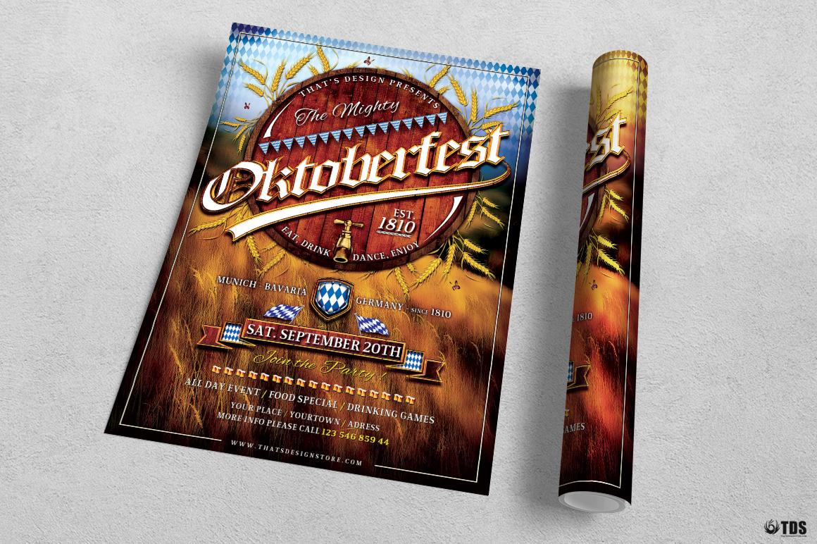 Oktoberfest Flyer Template V2 example image 4