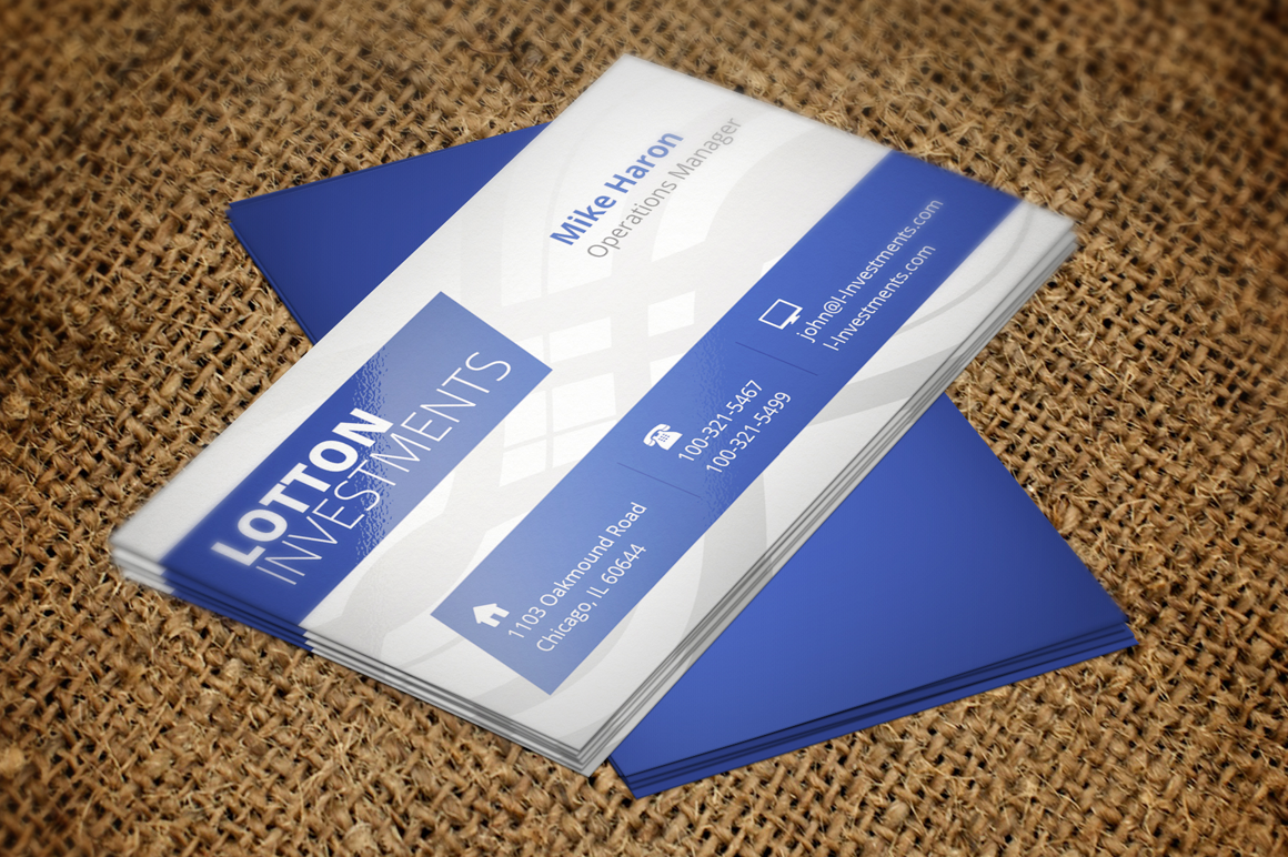 Creative Business Card 4 example image 1