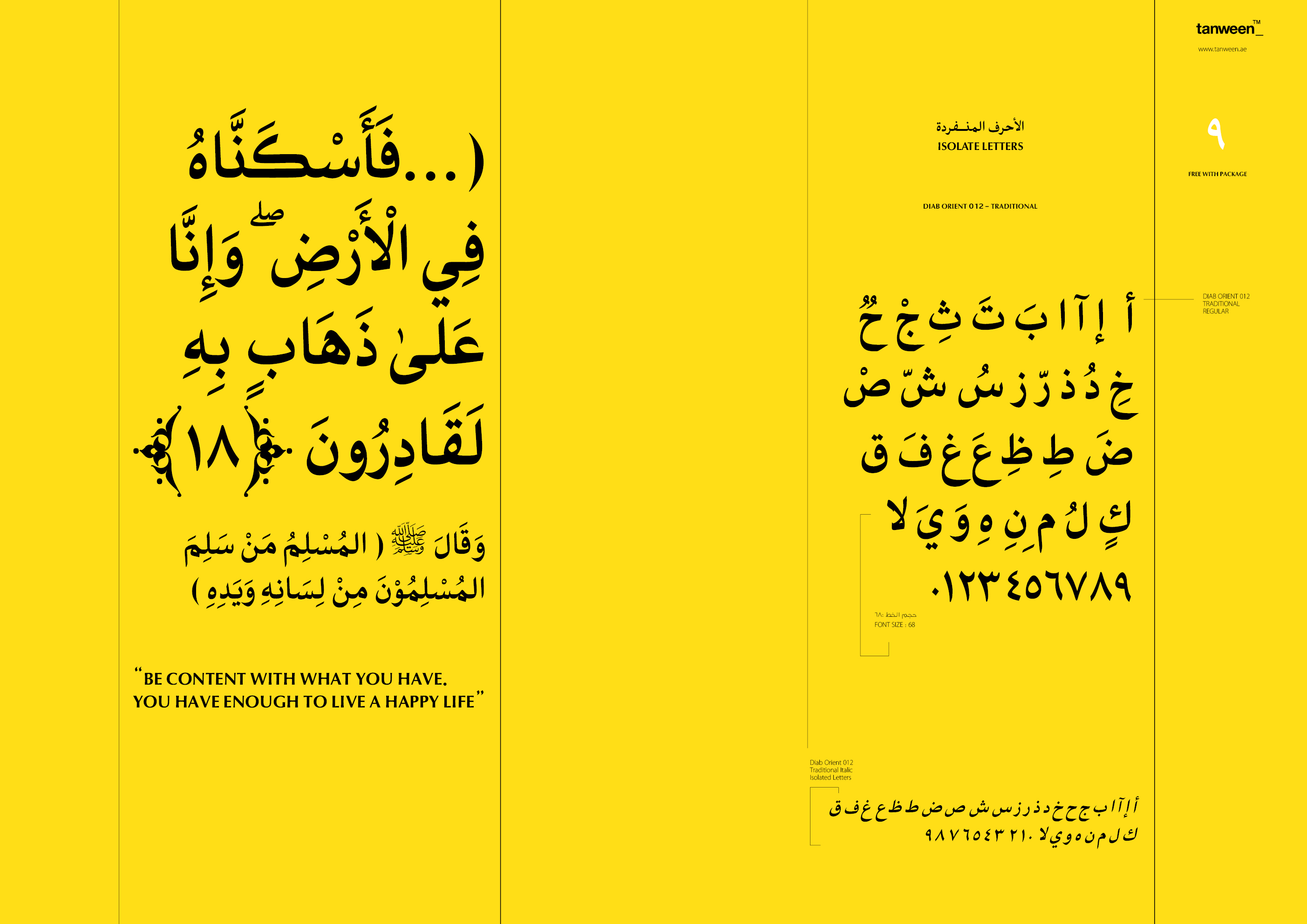 Diab Orient 018 Collection/18 font example image 17