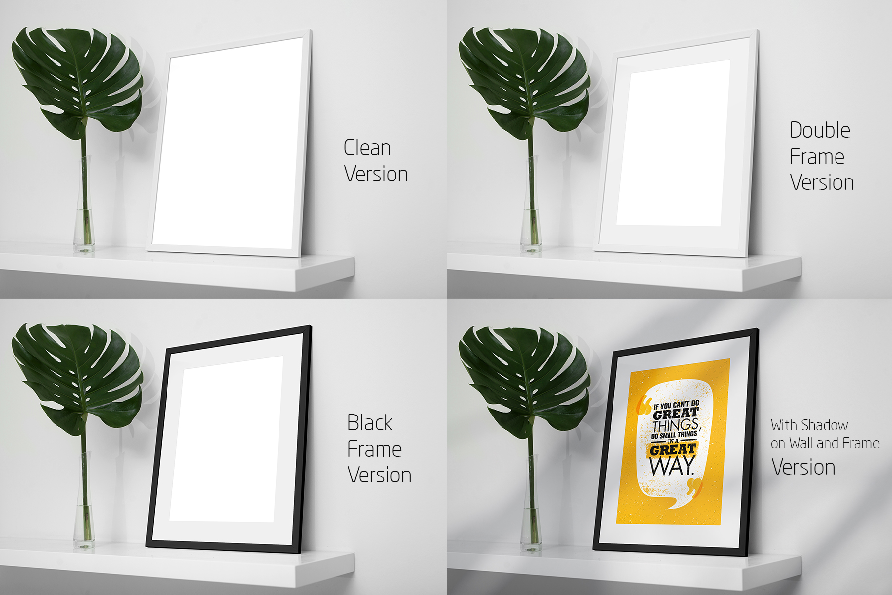 Frame Mock-Up Home Style 8 PSD example image 9