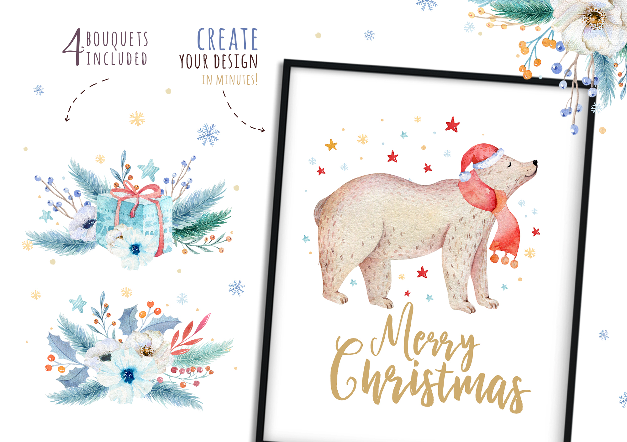 Christmas bear collection example image 3