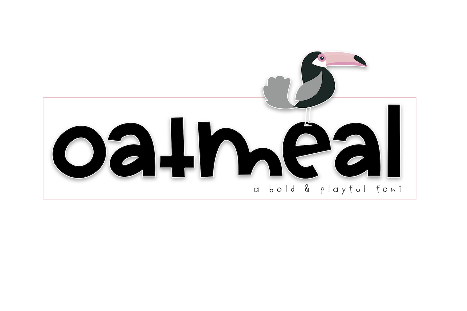 Oatmeal - A Bold Handwritten Font example image 1