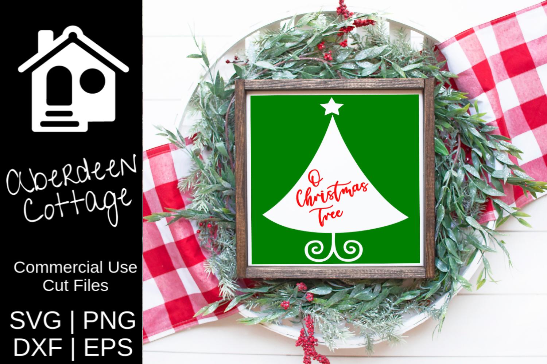 O Christmas Tree SVG example image 1
