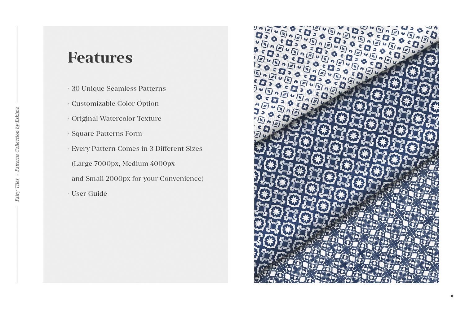 30 Geometric Watercolor Patterns example image 8