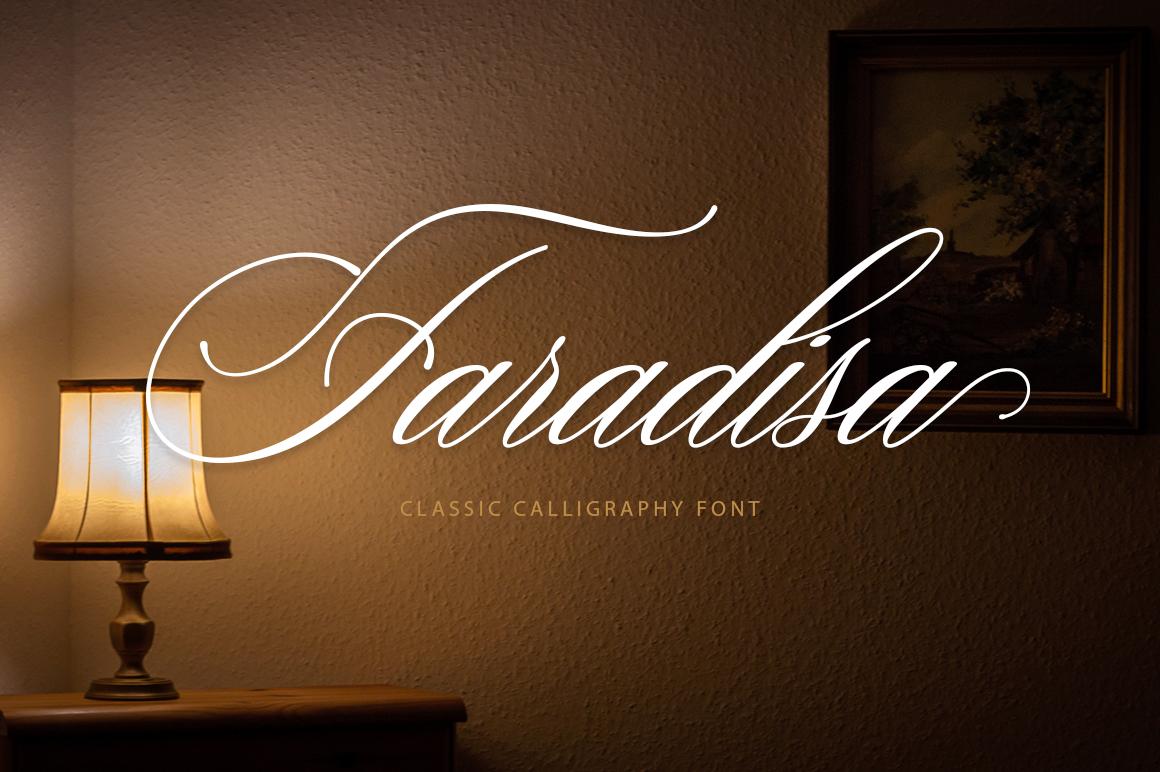 Faradisa Script example image 1