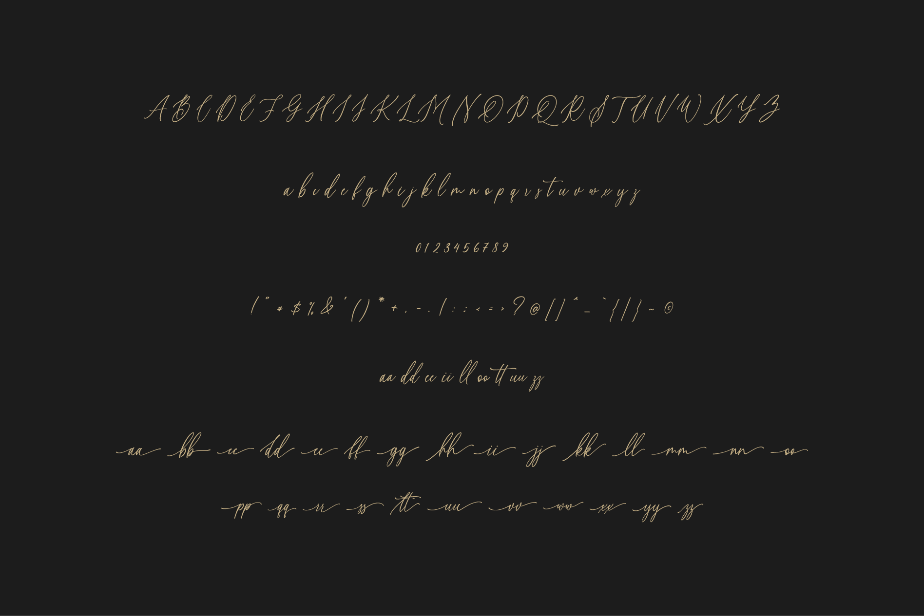 Willion Calligraphy Font example image 9