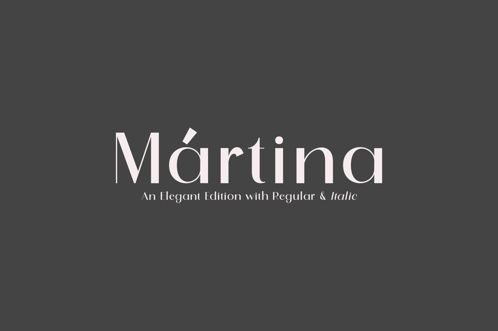 Martina example image 1