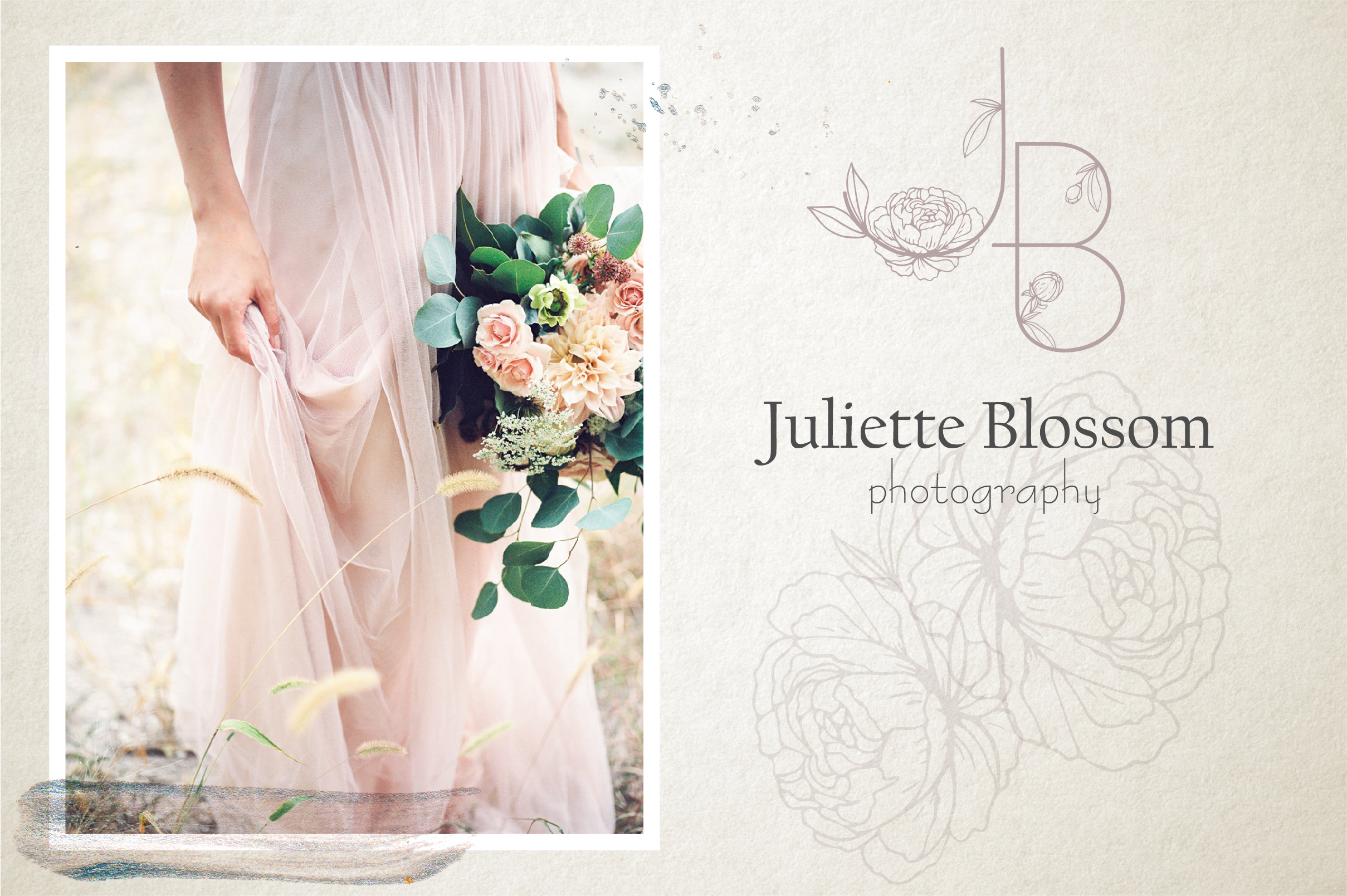 Amelie Floral Display Font example image 2