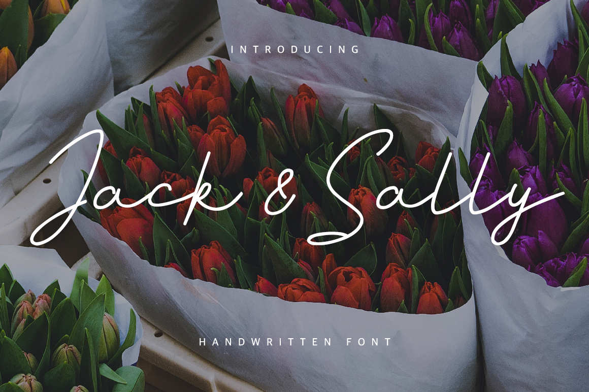 Jack And Sally Typeface example image 2