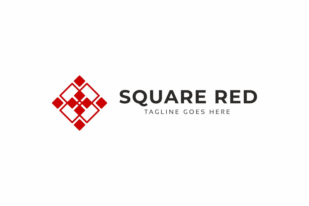 Square Red Logo example image 2