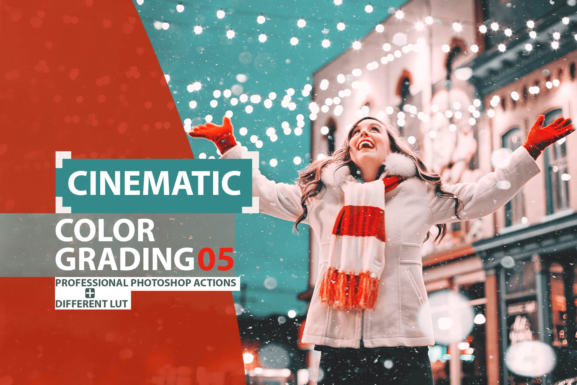 Cinematic color grading 05 Photoshop Actions example image 1